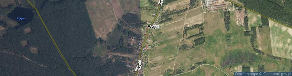 Zdjęcie satelitarne Wygon ul.