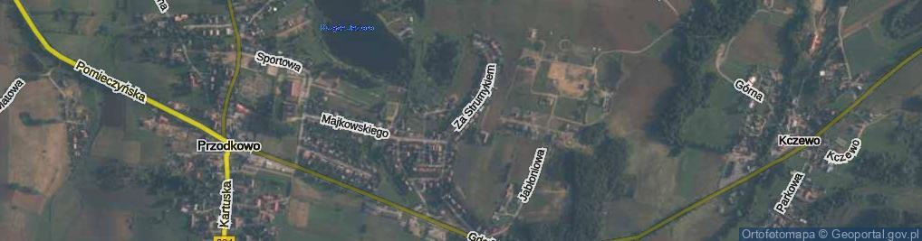 Zdjęcie satelitarne Za Strumykiem ul.