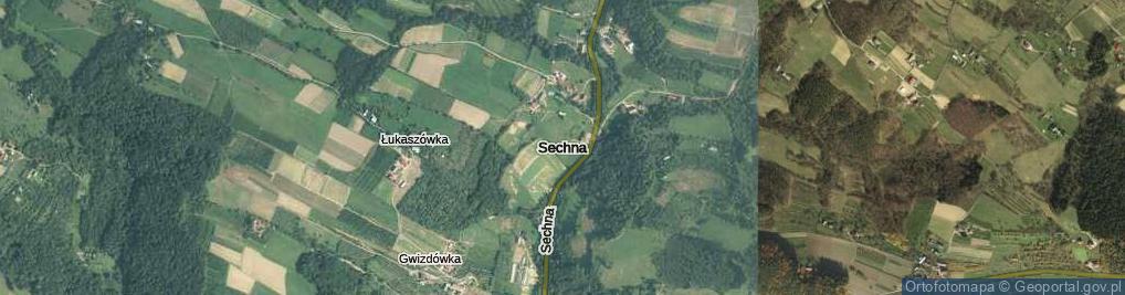 Zdjęcie satelitarne Zabrze ul.
