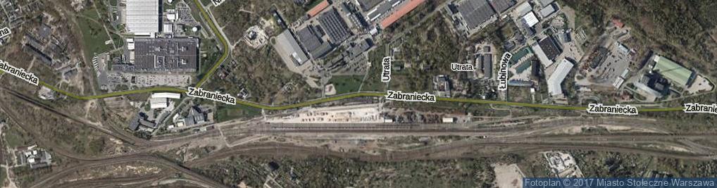 Zdjęcie satelitarne Zabraniecka ul.