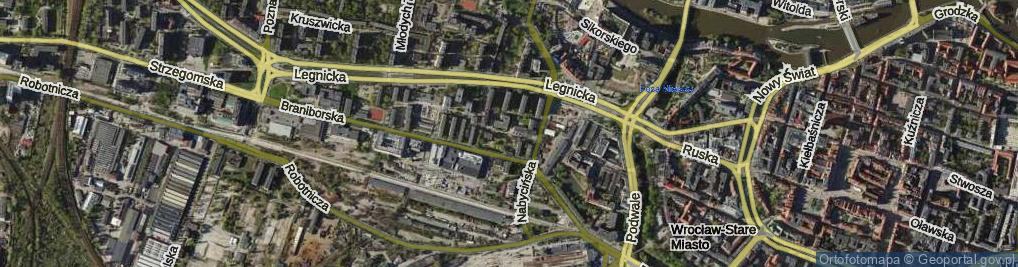 Zdjęcie satelitarne Ziemowita ul.