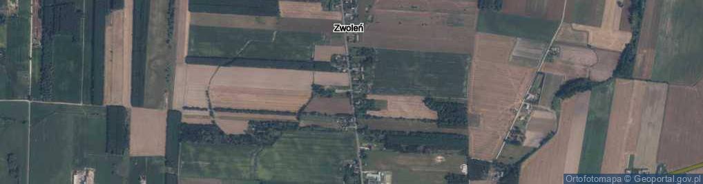 Zdjęcie satelitarne Zwoleń