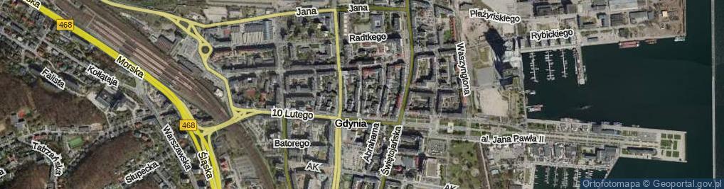 Zdjęcie satelitarne Zygmunta Augusta