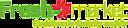 Logo - Freshmarket, 62-030 Luboń, ul. Sobieskiego 16  - Freshmarket - Sklep