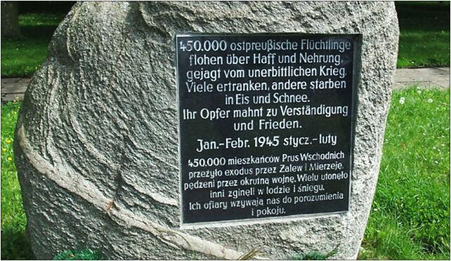 Frauenburg-Flüchtlingsdenkmal, 14-530 Frombork - Zdjęcia