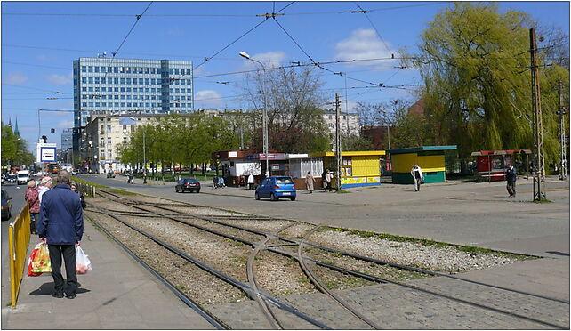 Plac Niepodleglosci Lodz, Łódź, Piotrkowska