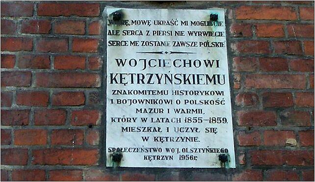 Tablica LO Kętrzyn, Kętrzyn, Bałtycka
