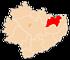 Województwo świętokrzyskie - mapa