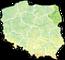 Województwo podlaskie - mapa