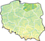 Województwo warmińsko-mazurskie - mapa
