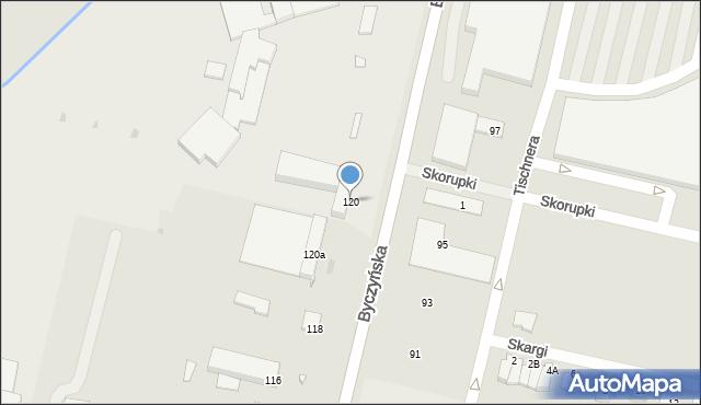 Kluczbork, Byczyńska, 120, mapa Kluczbork