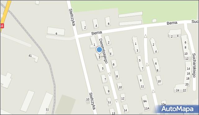 Braniewo, Dembińskiego, 3, mapa Braniewo