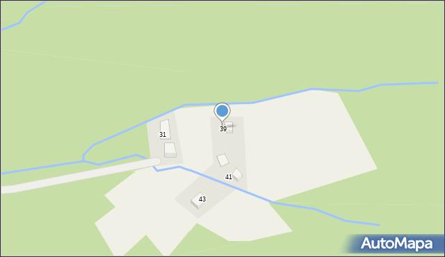 Brenna, Drożyska, 39, mapa Brenna