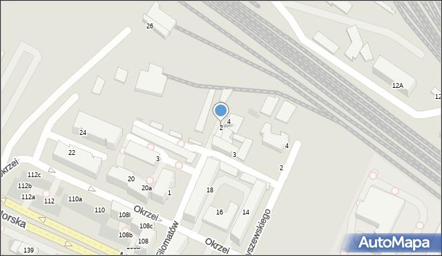 Gdynia, Filomatów, 2, mapa Gdyni