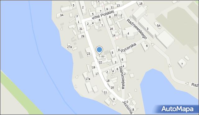 Pełczyce, Jeziorna, 24, mapa Pełczyce