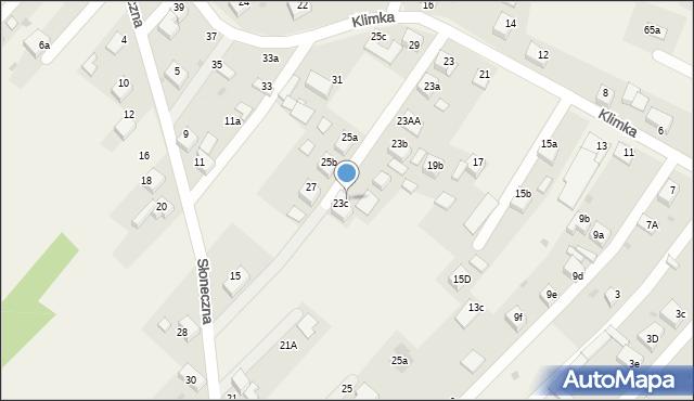 Książenice, Klimka, 25, mapa Książenice