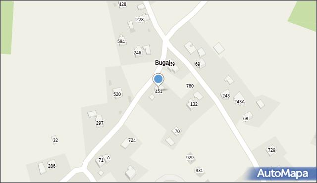 Koźmice Wielkie, Koźmice Wielkie, 451, mapa Koźmice Wielkie