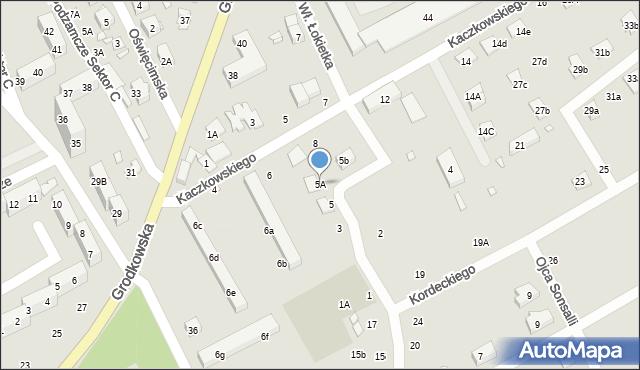 Nysa, Króla Władysława Łokietka, 5A, mapa Nysy