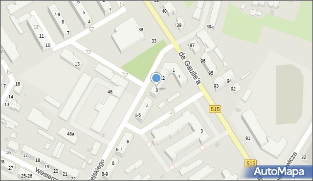 Malbork, Nowowiejskiego, 3, mapa Malborka