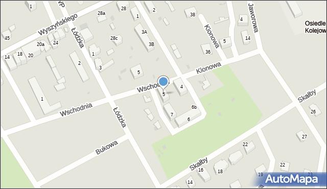 Kostrzyn nad Odrą, Plac Grunwaldzki, 5, mapa Kostrzyn nad Odrą