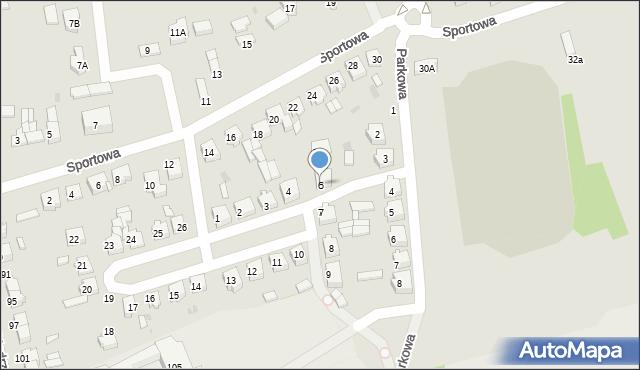 Wolbórz, Plac Siniarskiego, dr., 6, mapa Wolbórz