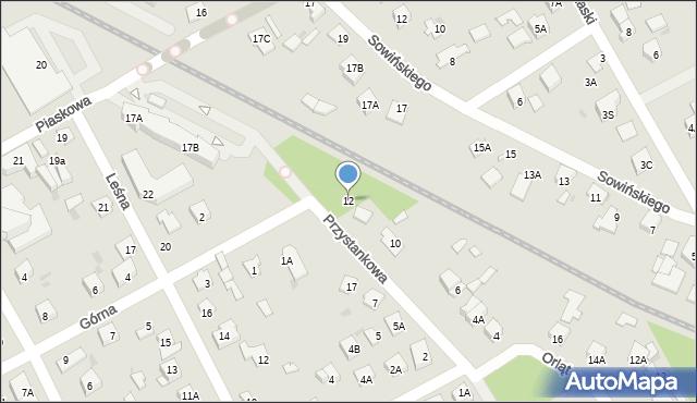 Grodzisk Mazowiecki, Przystankowa, 12, mapa Grodzisk Mazowiecki