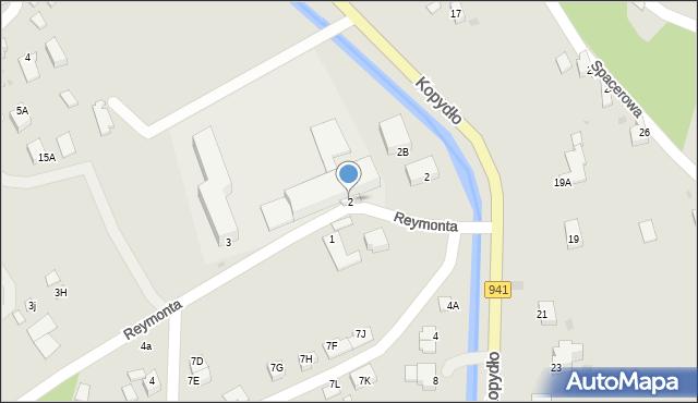 Wisła, Reymonta Władysława, 2, mapa Wisła
