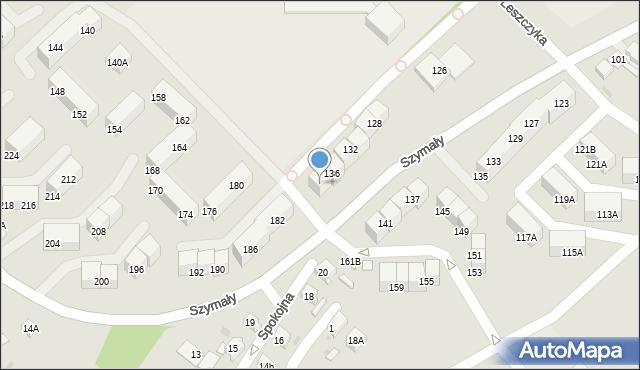 Bytom, Szymały, 138, mapa Bytomia