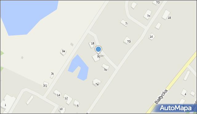 Kętrzyn, Targowa, 7C, mapa Kętrzyn