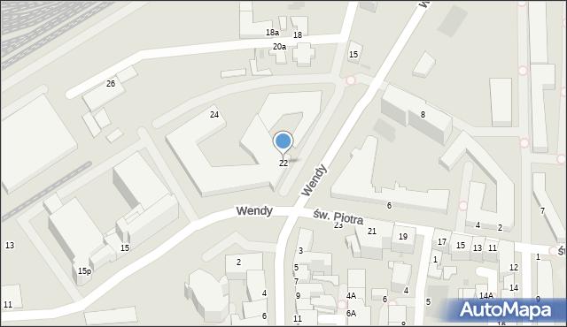 Gdynia, Węglowa, 22, mapa Gdyni