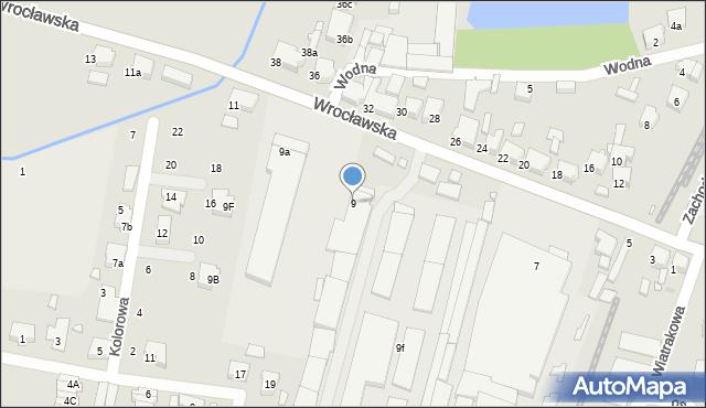 Kępno, Wrocławska, 9, mapa Kępno