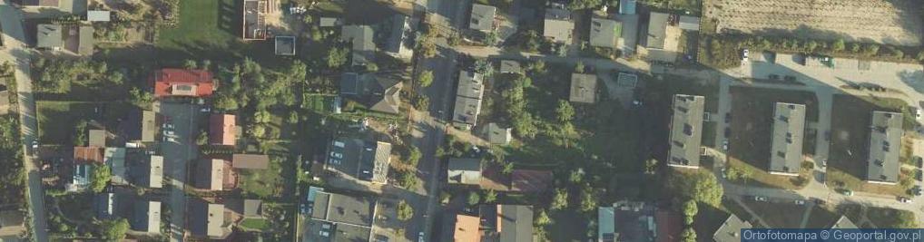 Zdjęcie satelitarne 900-lecia ul.