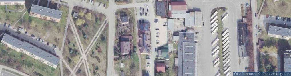 Zdjęcie satelitarne Aleja Jana Pawła II al.