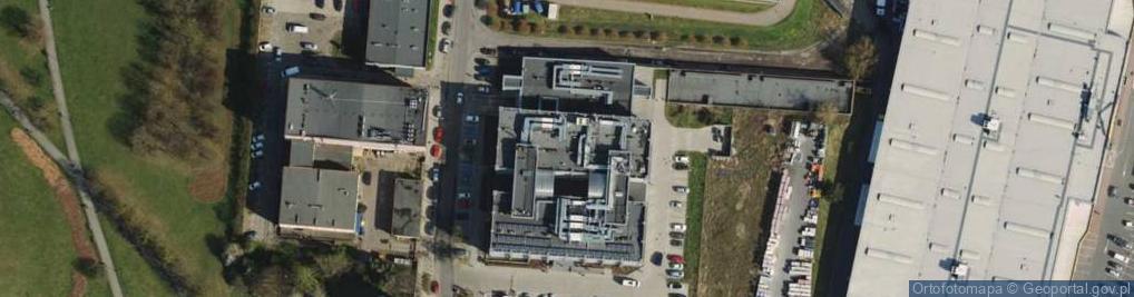 Zdjęcie satelitarne Aleje Solidarności al.