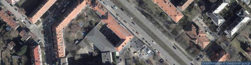 Zdjęcie satelitarne Aleja Wojska Polskiego al.