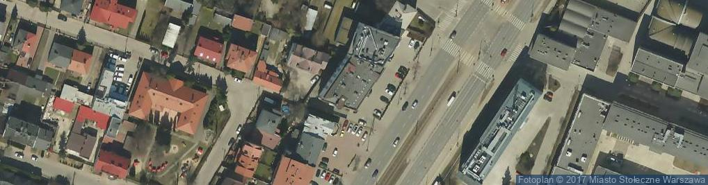 Zdjęcie satelitarne Aleja Krakowska al.