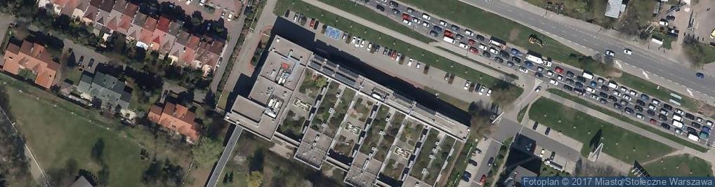 Zdjęcie satelitarne Aleja Wilanowska al.