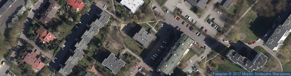 Zdjęcie satelitarne Apenińska ul.