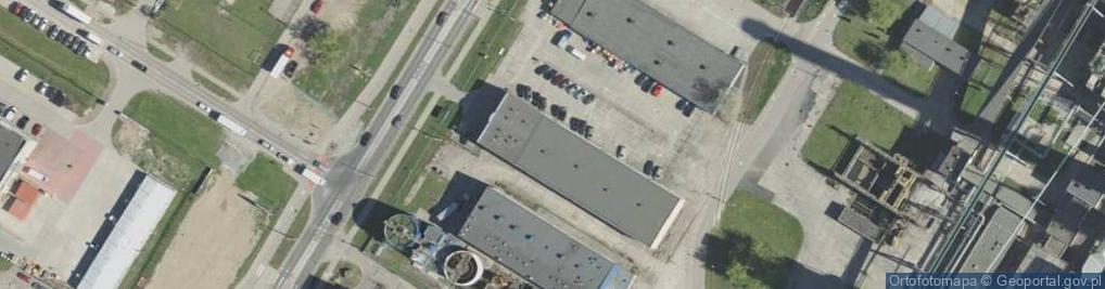 Zdjęcie satelitarne Bitwy Białostockiej ul.