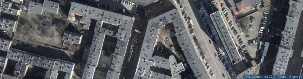 Zdjęcie satelitarne bł. Królowej Jadwigi ul.