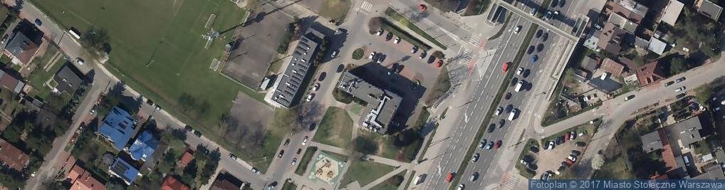 Zdjęcie satelitarne Blokowa ul.
