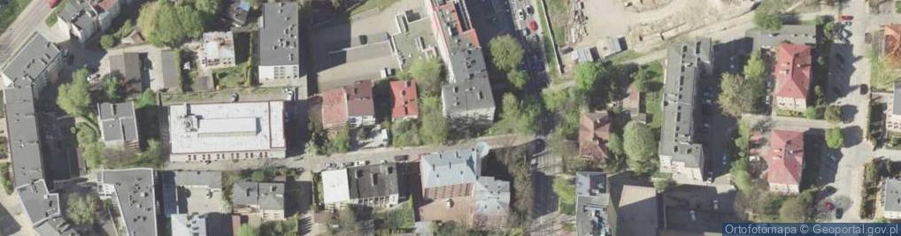Zdjęcie satelitarne Boczna Lubomelskiej ul.