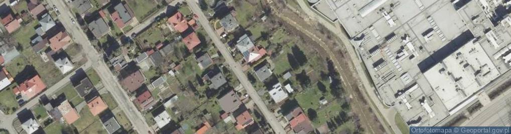 Zdjęcie satelitarne Braci Żmudów ul.
