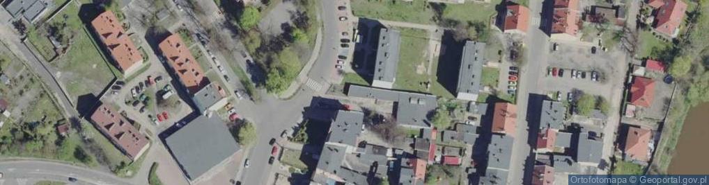 Zdjęcie satelitarne Buczka ul.