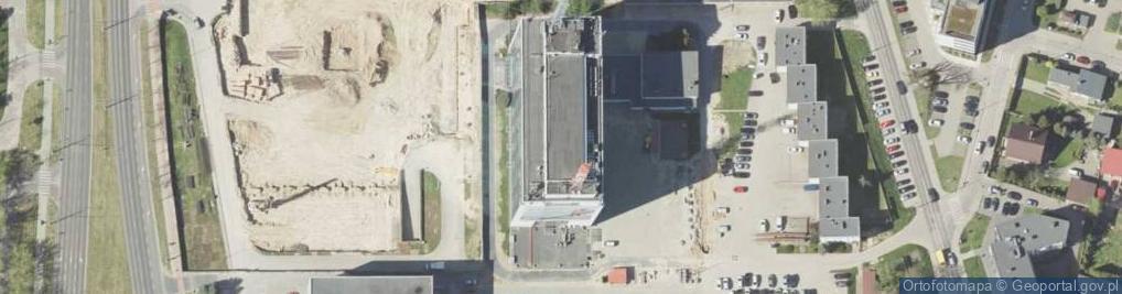Zdjęcie satelitarne Chodźki Witolda, dr. ul.