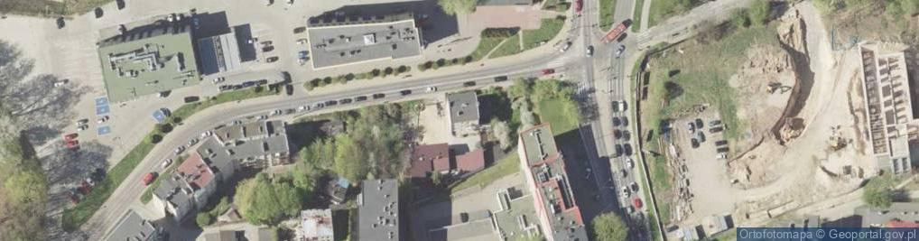 Zdjęcie satelitarne Czechowska ul.