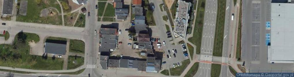 Zdjęcie satelitarne Dąbka Stanisława, płk. ul.