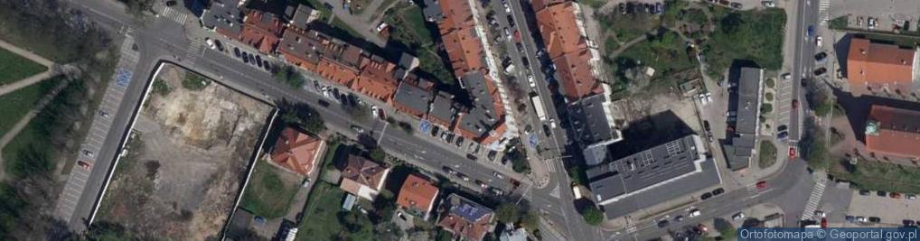 Zdjęcie satelitarne Domańskiego Bolesława ul.