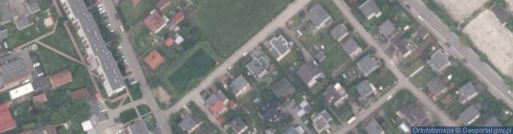 Zdjęcie satelitarne Dzierżonia ul.