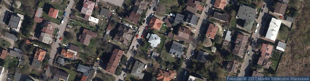 Zdjęcie satelitarne Dziupli ul.